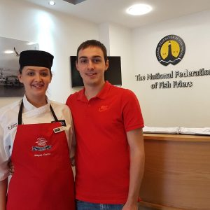 Drywite Young Fish Frier of the Year competition,