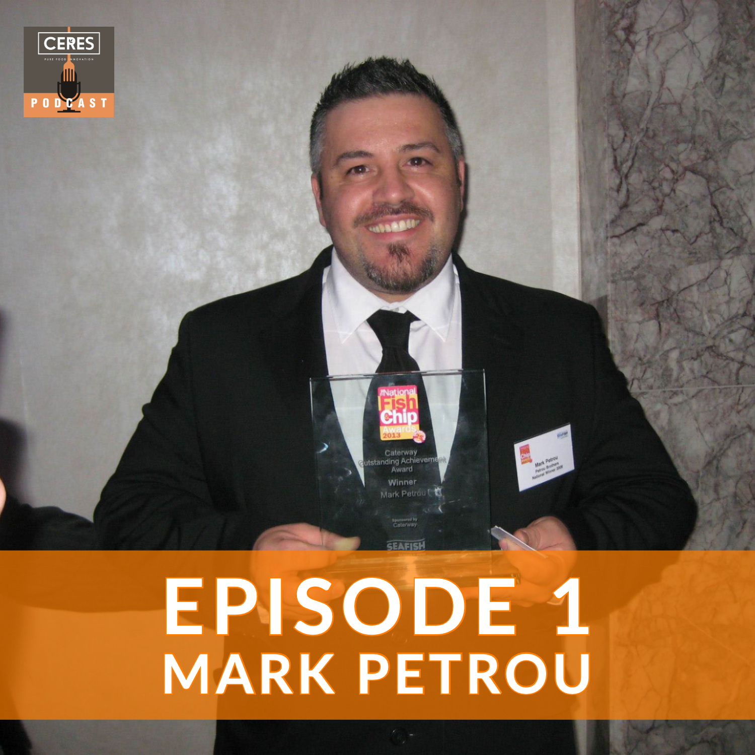 Mark Petrou episode cover.
