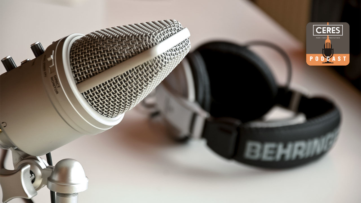 image of microphone Ceres Podcast