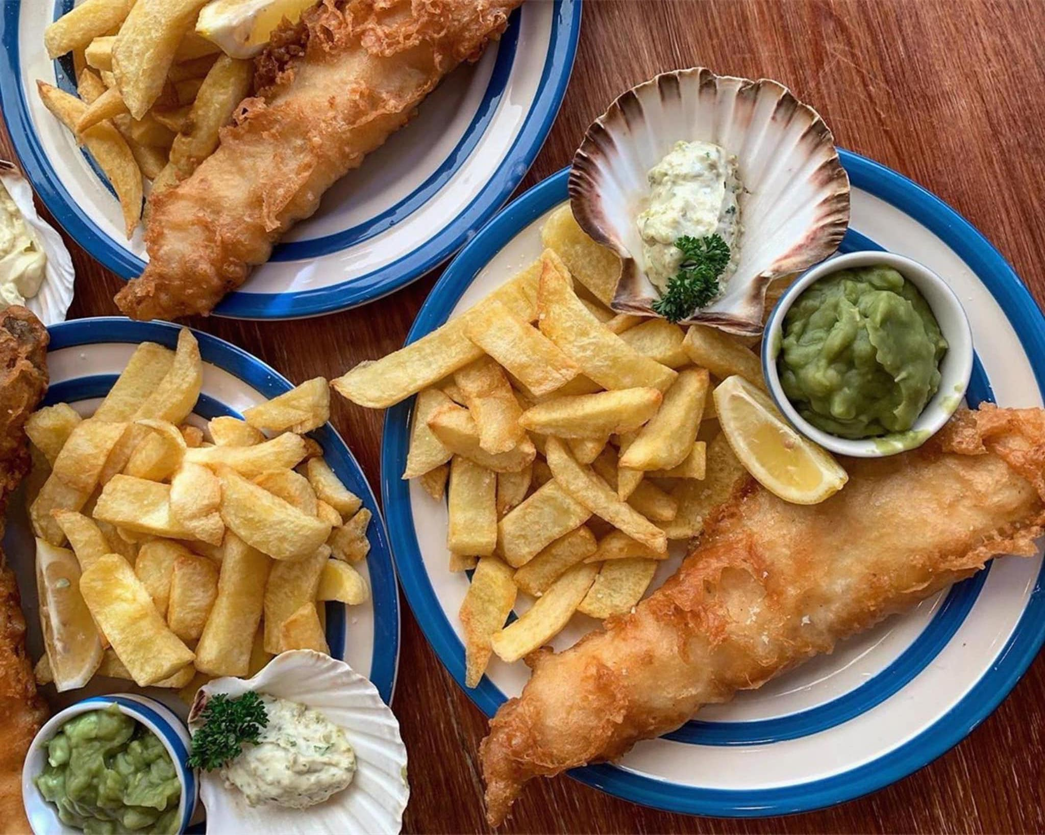 step it up on national fish & chip day
