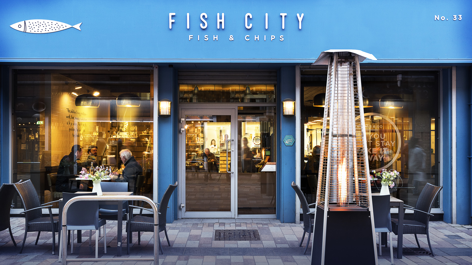 fish city Belfast national fish chip awards