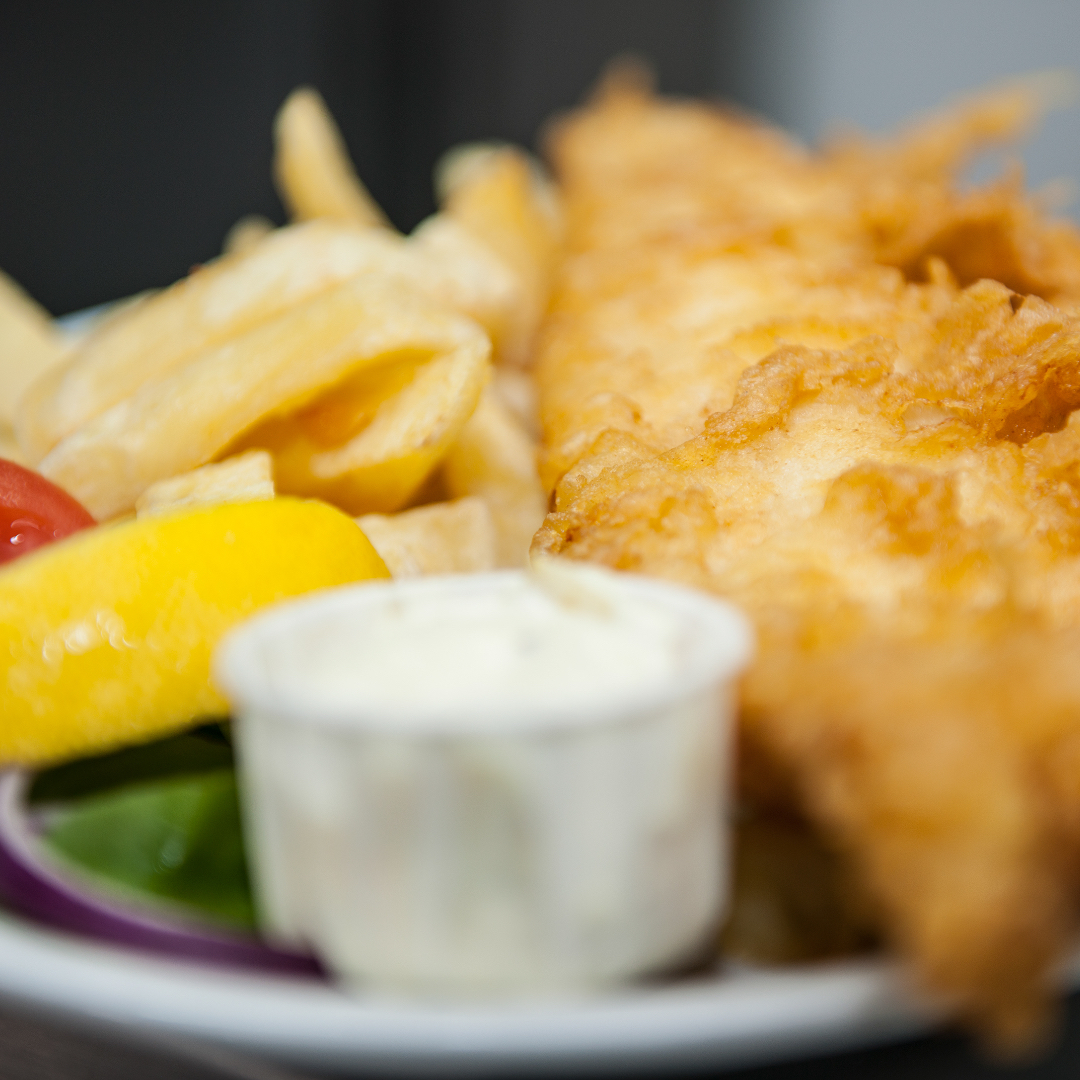 Stand & Deliver, Fish & Chips
