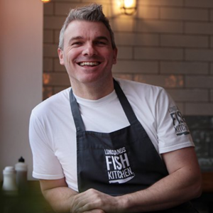 SIMON WALSH, LONGSANDS FISH KITCHEN, FISHCAKE MIX, FISHCAKE