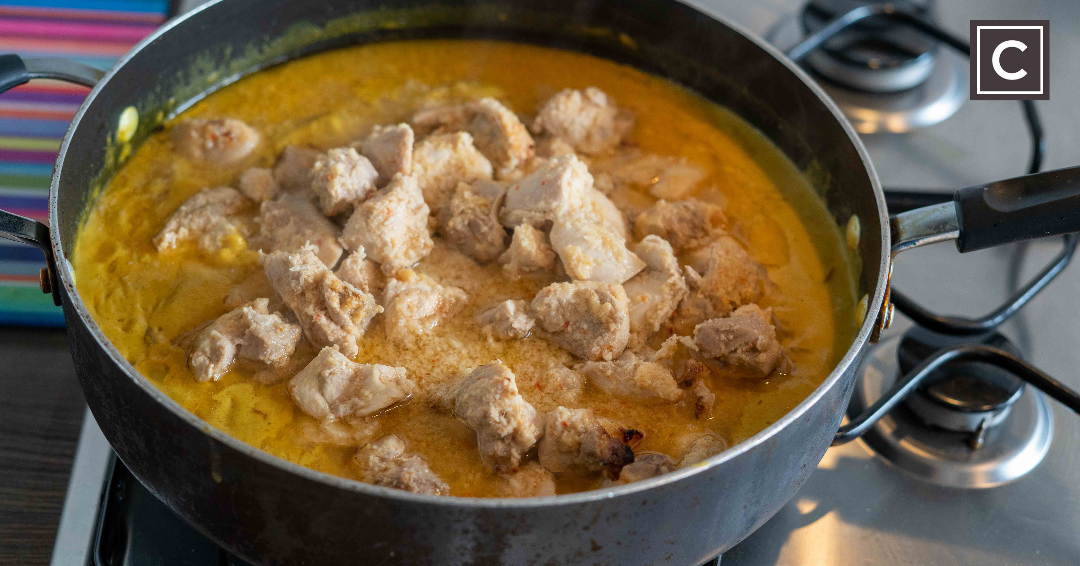 Chicken Curry, Ceres Curry, Fragrant