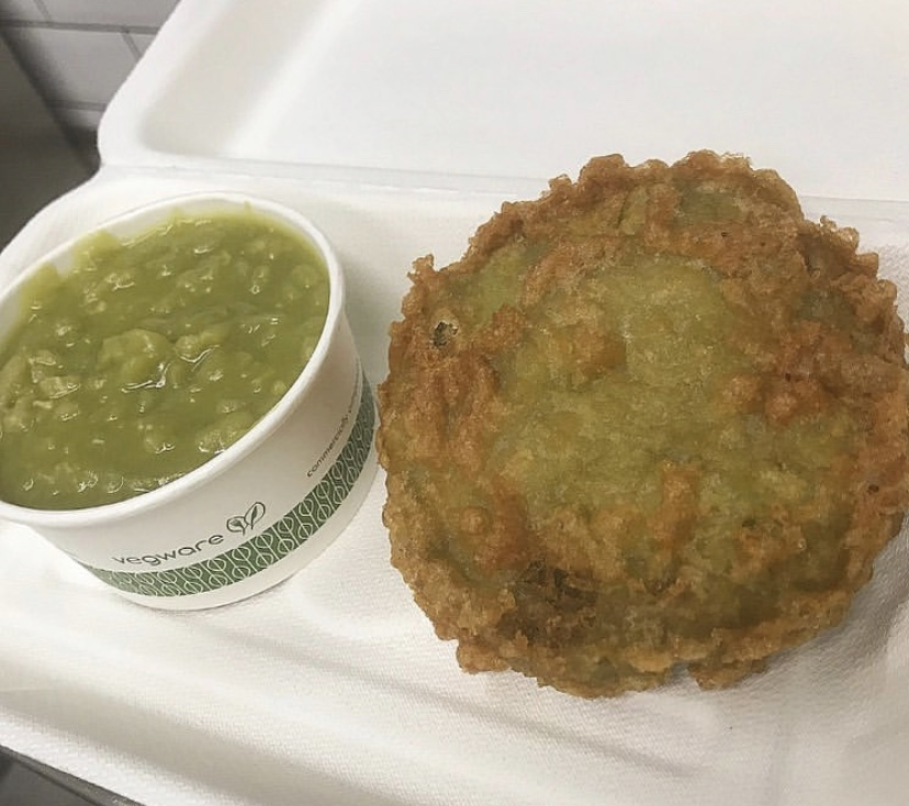 How To Make Mushy Pea Fritters