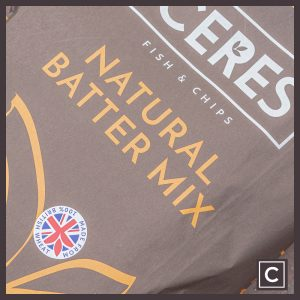 NATURAL BATTER MIX - 16kg
