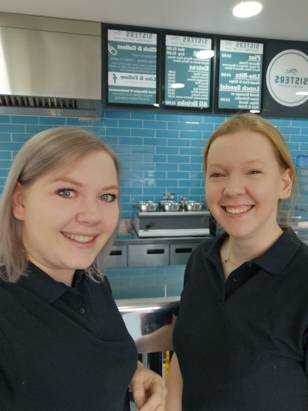 Rachel Tweedale, Lauren Walker, Sisters, Sisters Fish and Chips, north hykeham