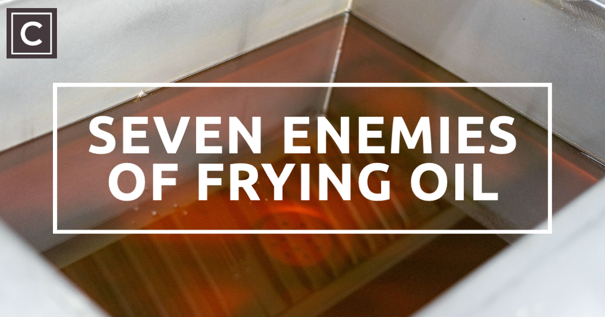 Seven enemies of Frying oil, Fish and chip shop, title