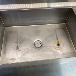 BOIL-OUT SPOTS POTENTIAL PROBLEM