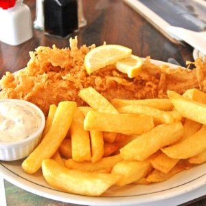 STEP IT UP FOR NATIONAL FISH & CHIP DAY