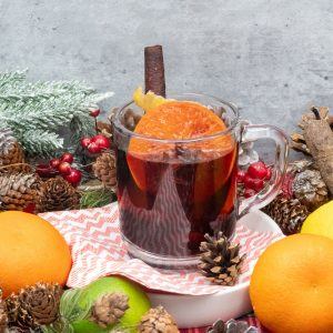 CHRISTMAS, MULLED, WINE